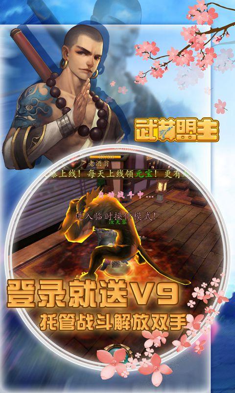 武林盟主(送萝莉职业)游戏截图